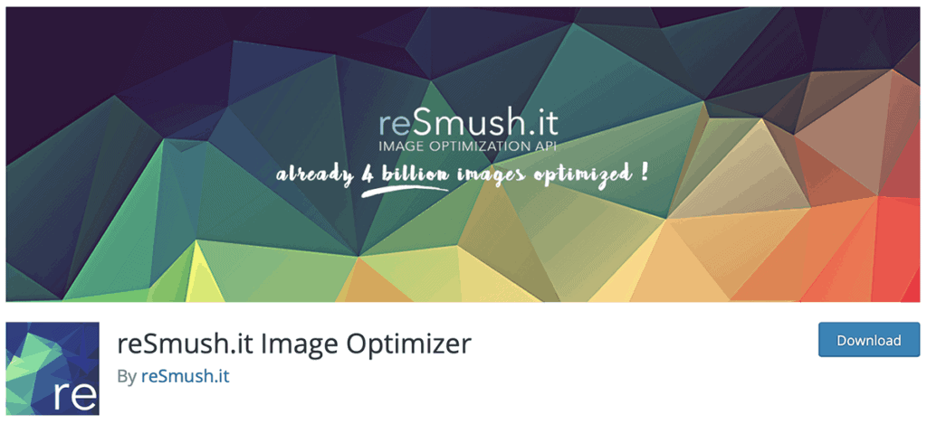 re smush it images