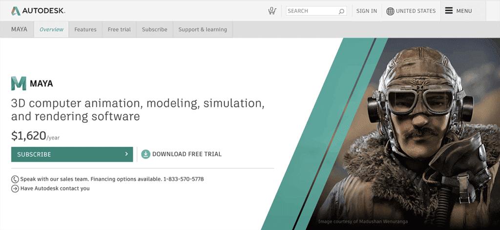 Autodesk Maya - Computer Animation and Modeling