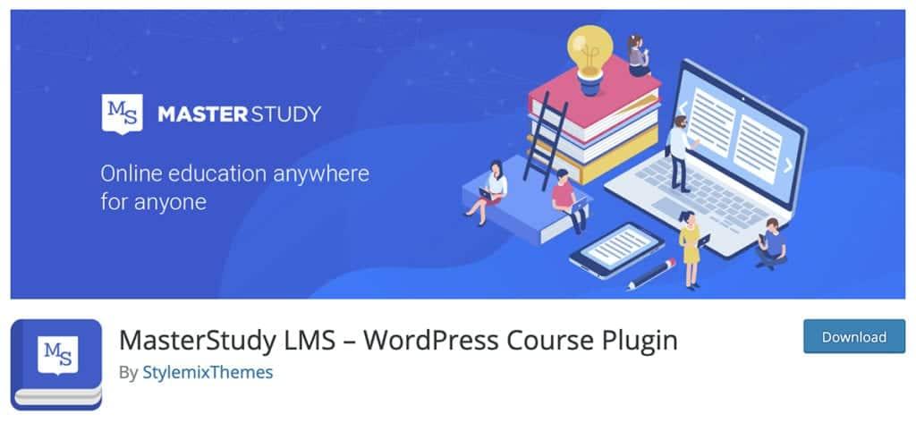 MasterStudy LMS – WordPress Course Plugin
