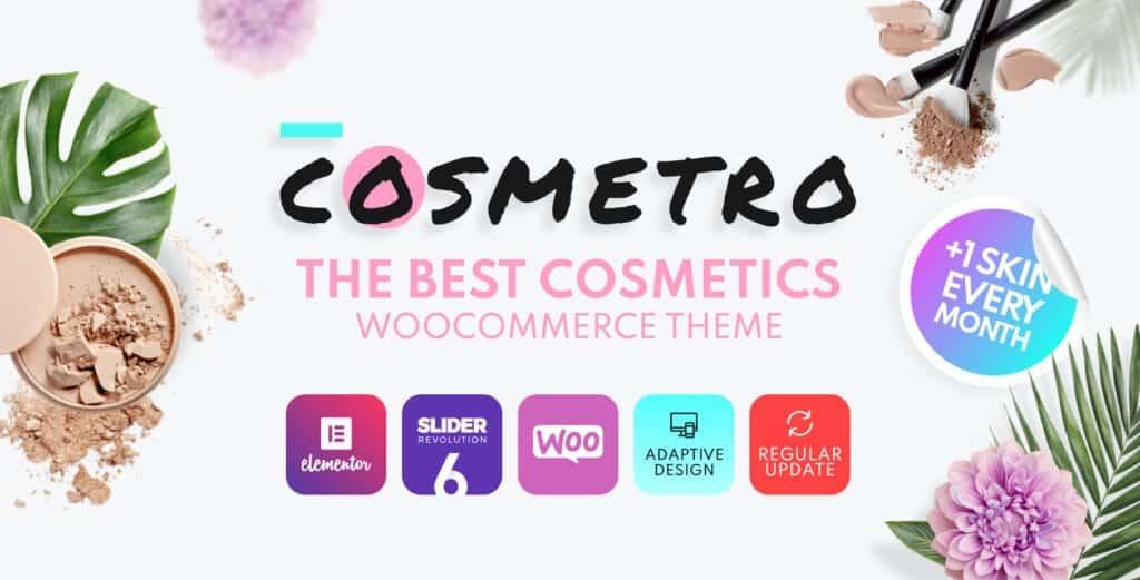 Cosmetro woocommerce best theme