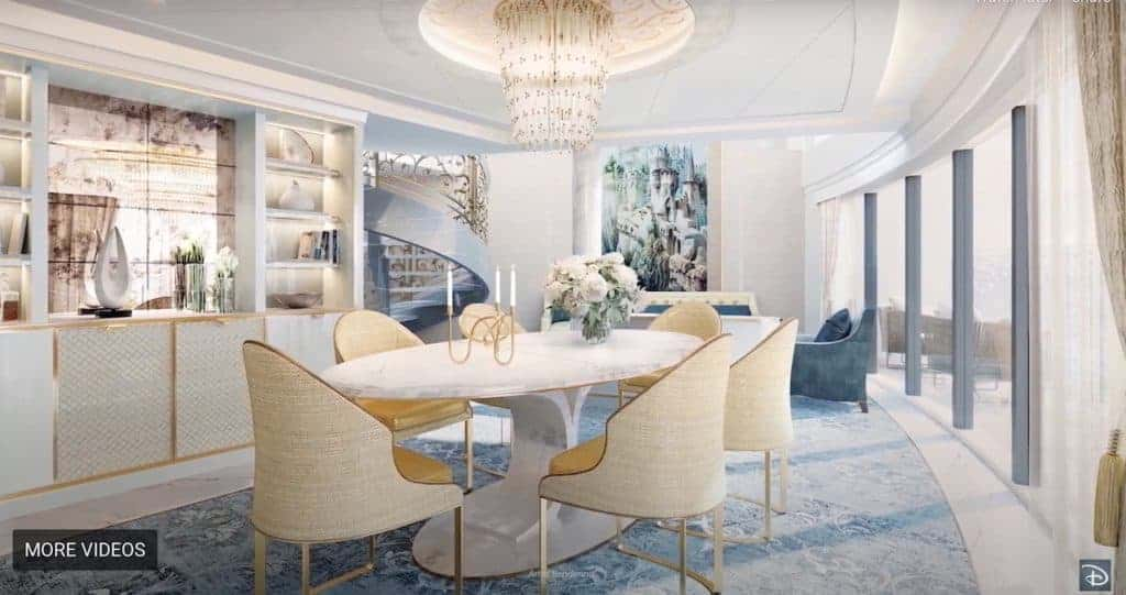 2-storey Royal Suites Disney Wish