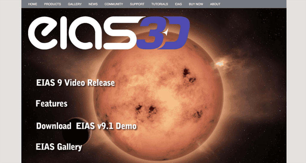 EIAS 3D - Electric Image Animation System