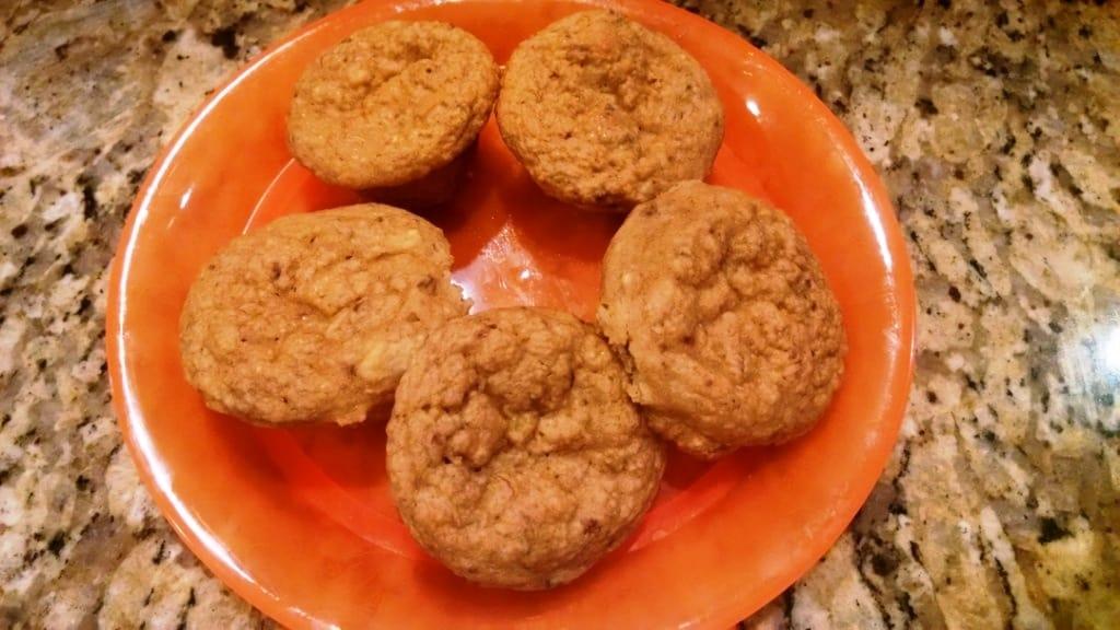 Mini Muffins plated