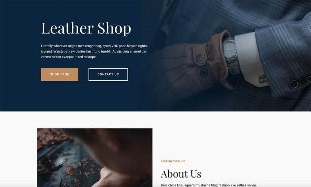neve leather shop