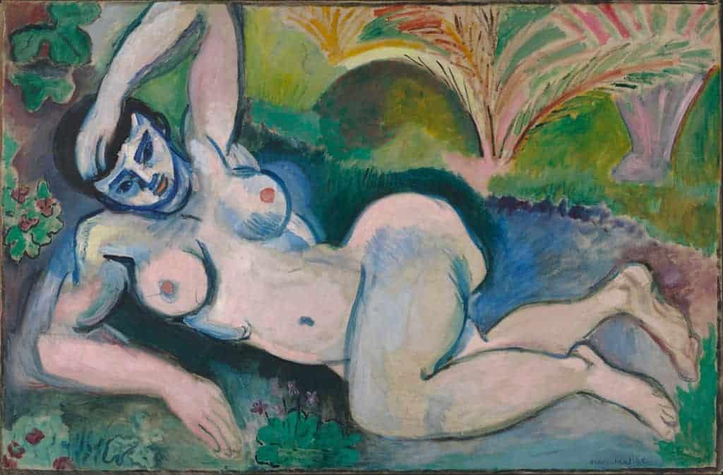 Henri Matisse, Blue Nude (Souvenir de Biskra), 1907. Armory Show