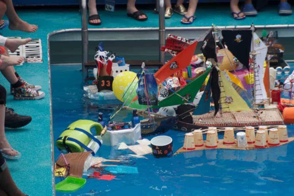 Goofy and Max's Boat-Building Bash Disney Magic Transatlantic Cruise
