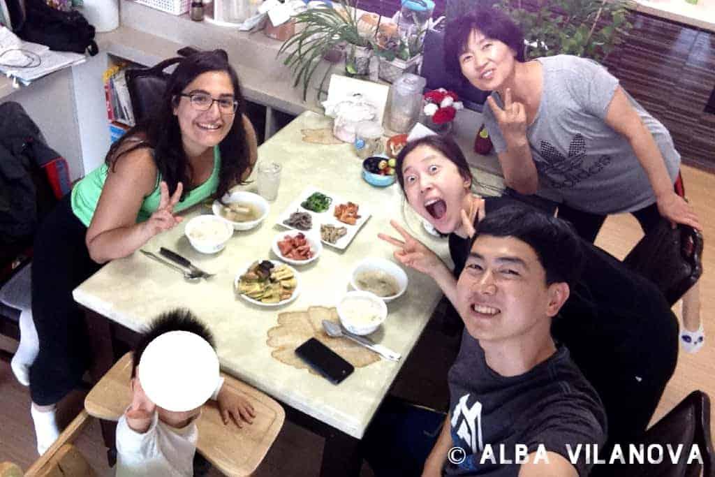 La familia coreana que me adoptó durante las vacaciones de Chuseok - Corea del Sur - Estudiar en el extranjero - Blog de Alba Vilanova