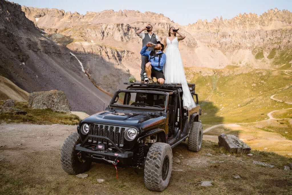 Colorado Elopement Locations Off-Roading Route