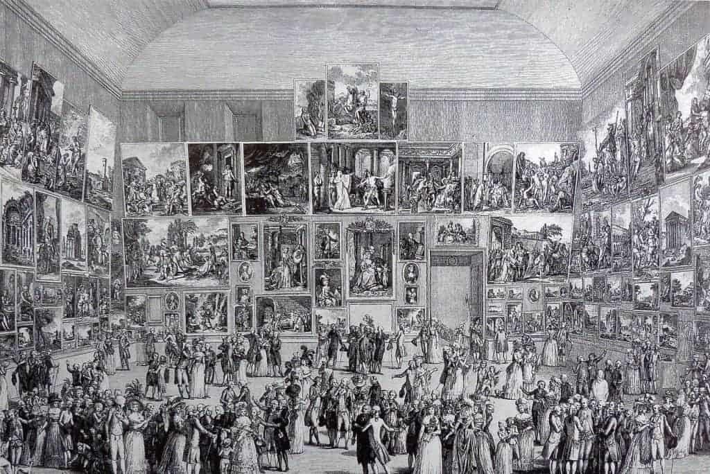Pietro Antonio Martini - Exposition au Salon de 1787