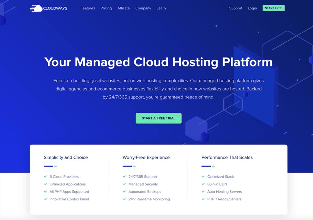 Cloudways - $80/month
