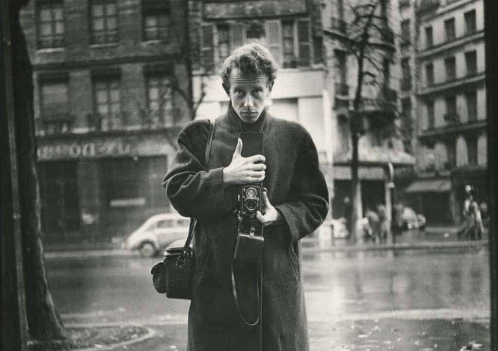 Ed van der Elsken self portrait
