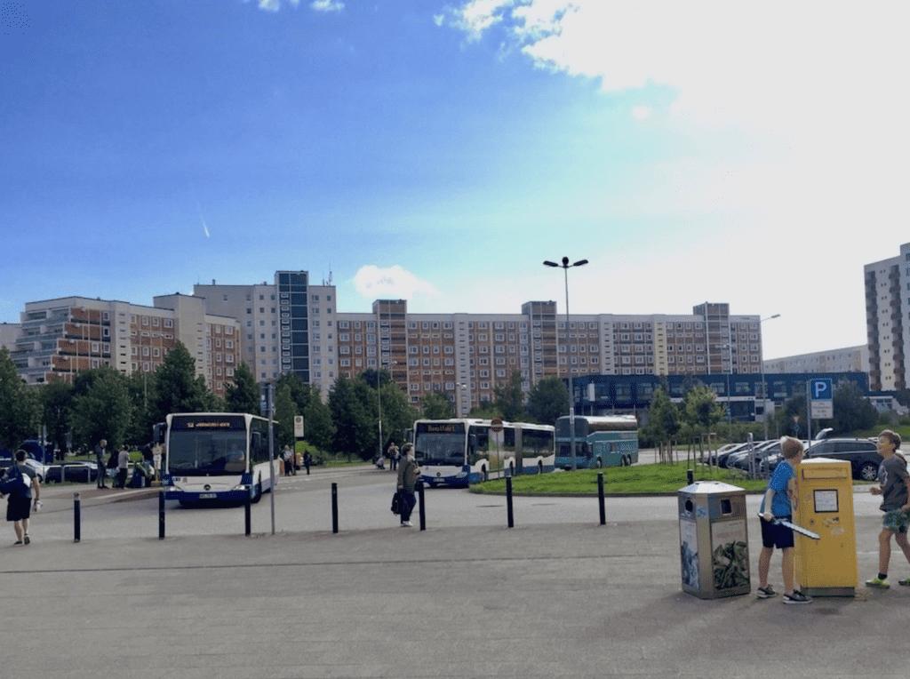 Rostock Hauptbahnhof, Suedstadt