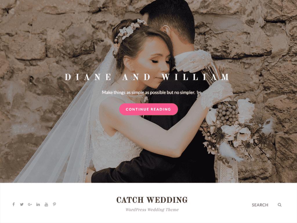 catch wedding