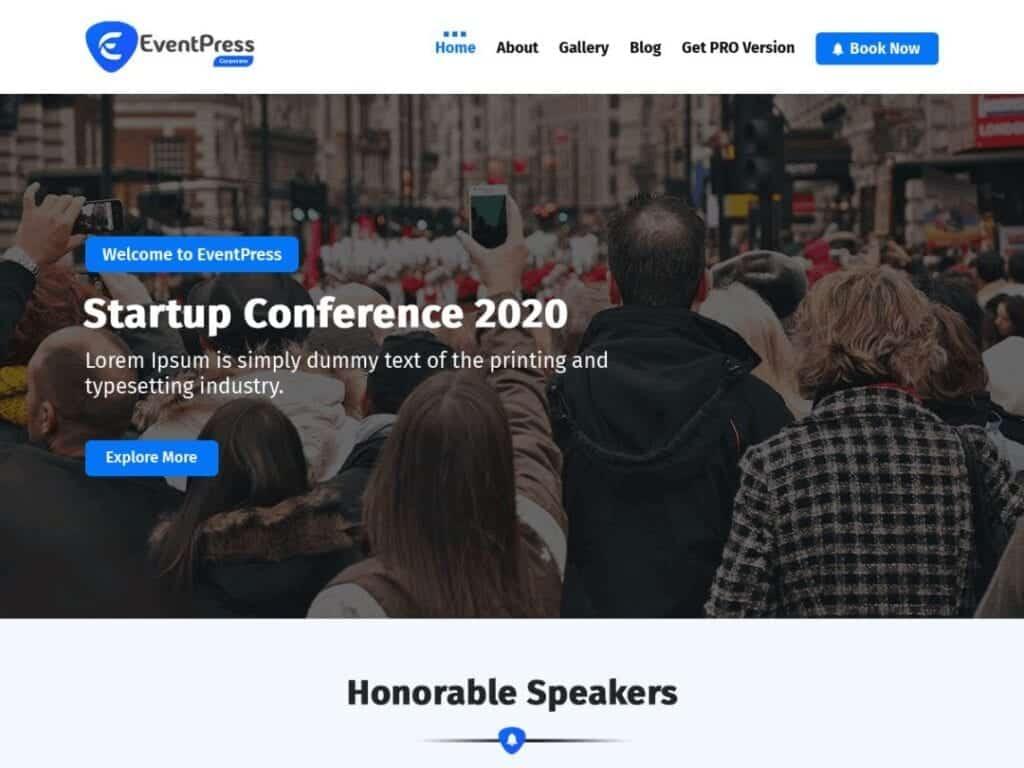 Best Free Event WordPress Themes