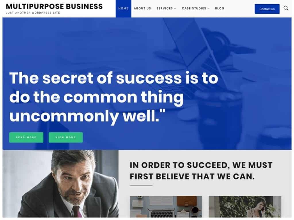 Best Free MultiPurpose WordPress Themes