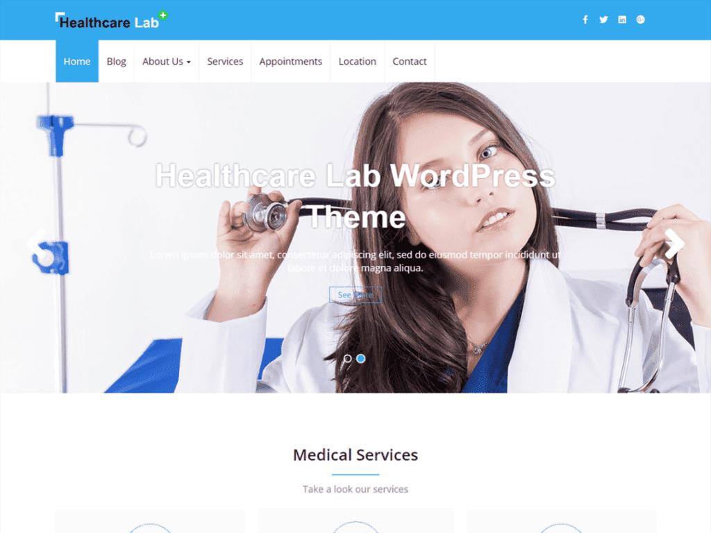 healthcare lab