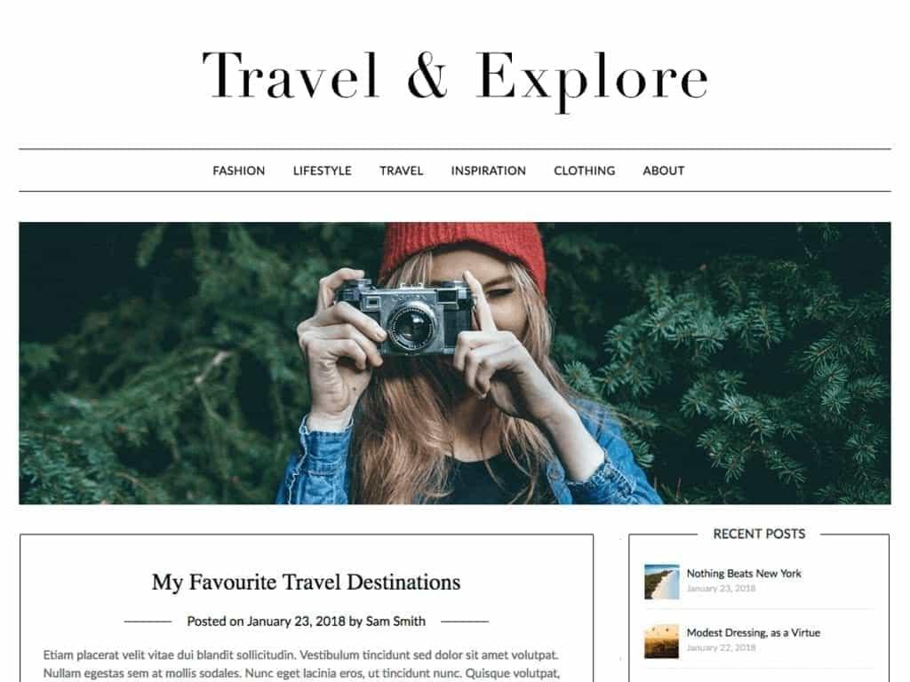 minimalist blogger
