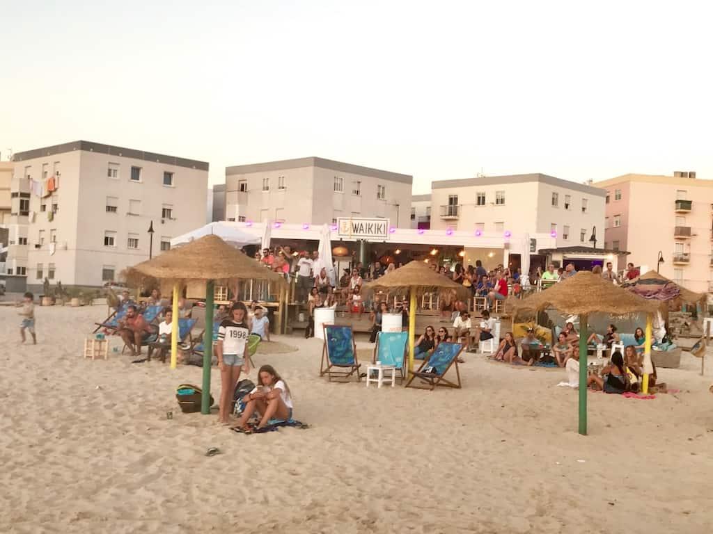 Tarifa Spanien Strand