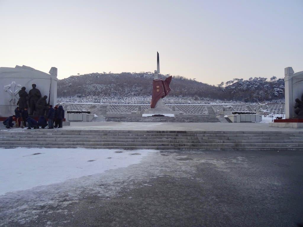 Nach Nordkorea reisen: Arbeiterbrigaden