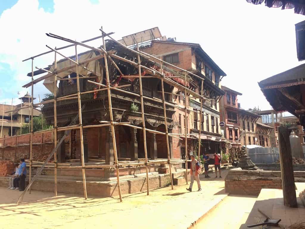 Nepal Erdbeben aktuell Bhaktapur