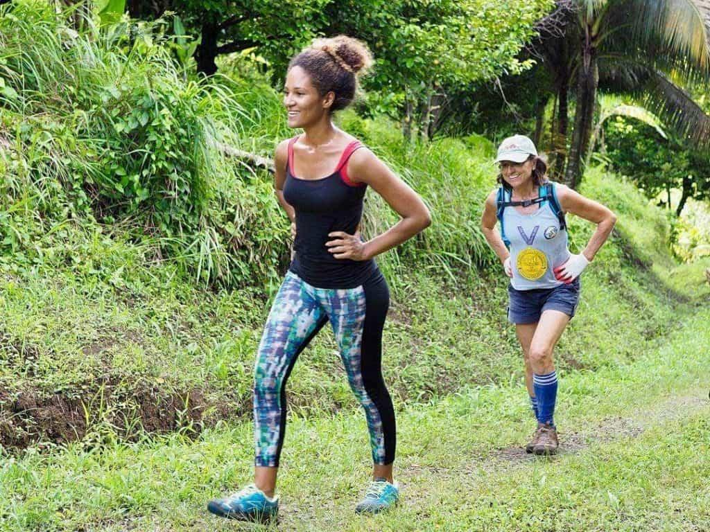 Leben in der Karibik: Wandern mit Tochter Irina