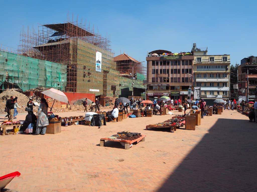 Kathmandu Durbar Square Rückseite