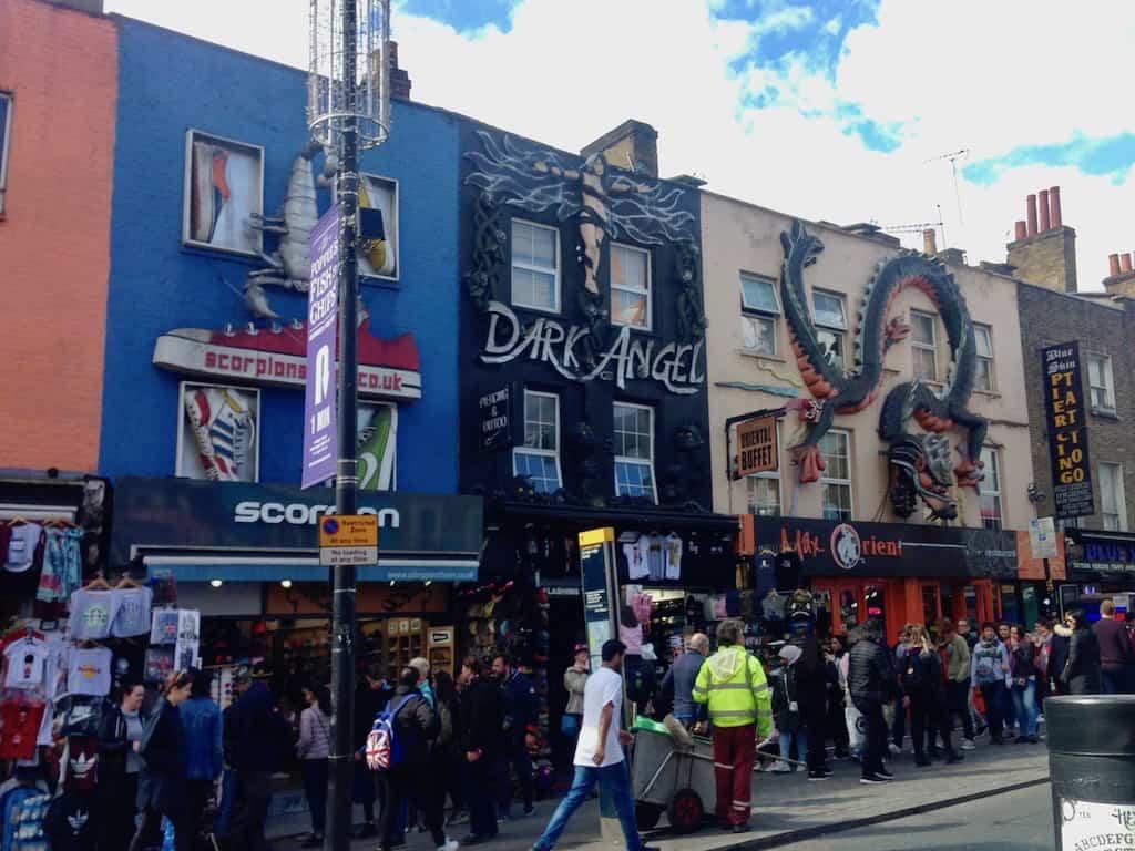 Auf dem Weg zum berühmten Camden Market in London