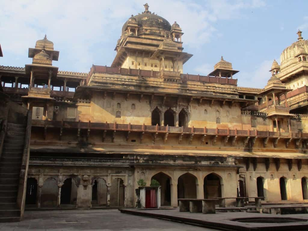 Jahangir Mahal in Orchha, eine von unzähligen Indien Sehenswürdigkeiten