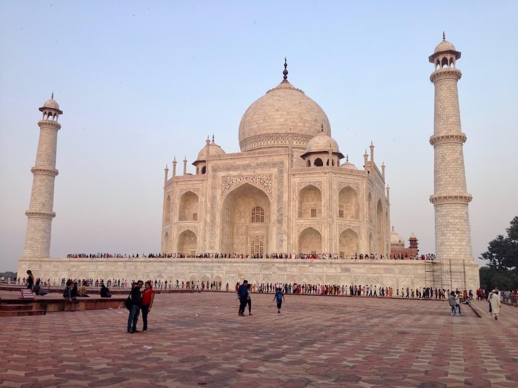 Indien Sehenswürdigkeiten: Der Taj Mahal