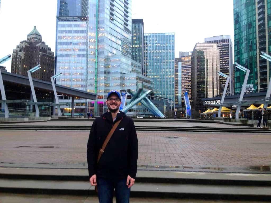 Auswandern nach Kanada: Christian im Zentrum von Vancouver