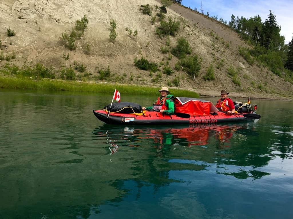 Yukon River Kanutour beginnt