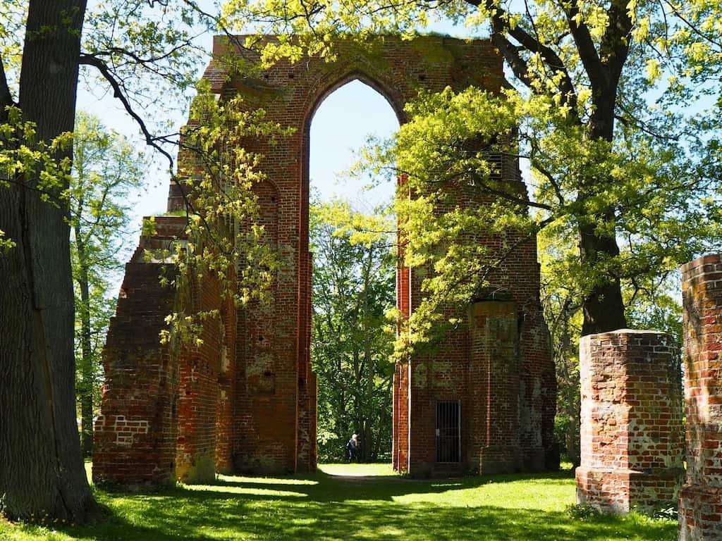 Greifswald Sehenswürdigkeiten: Klosterruine Eldena