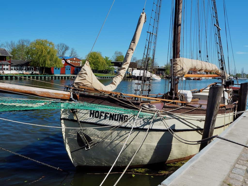 Boot am Museumshafen