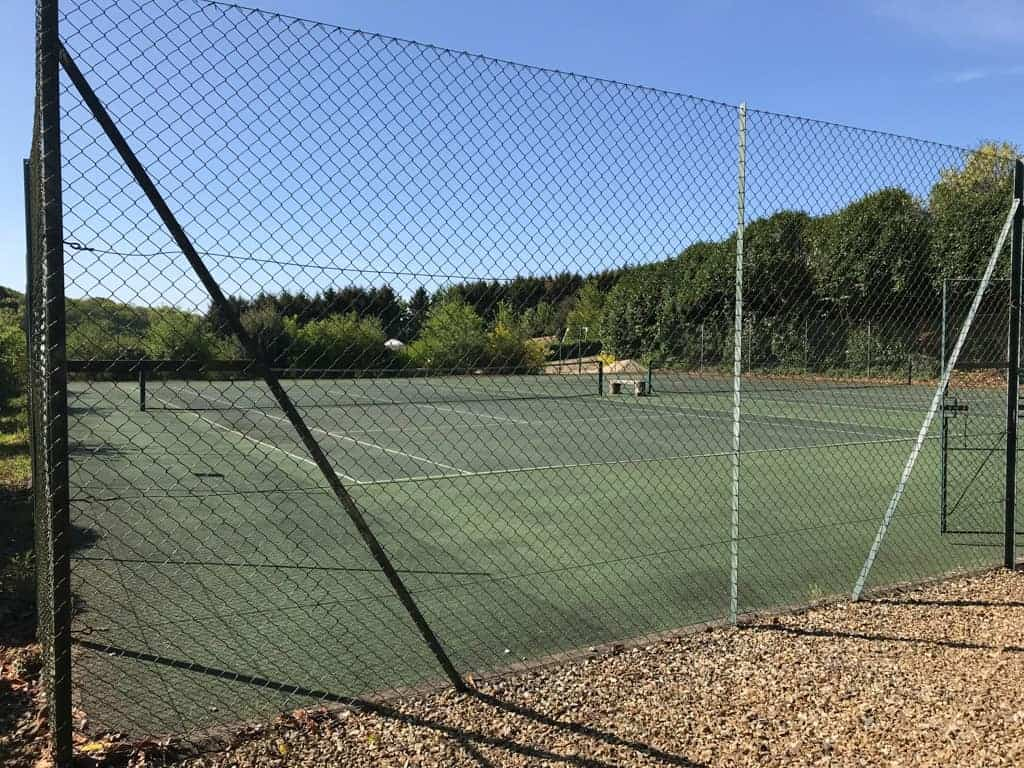Outdoor Tennis Courts at Greenwood Grange