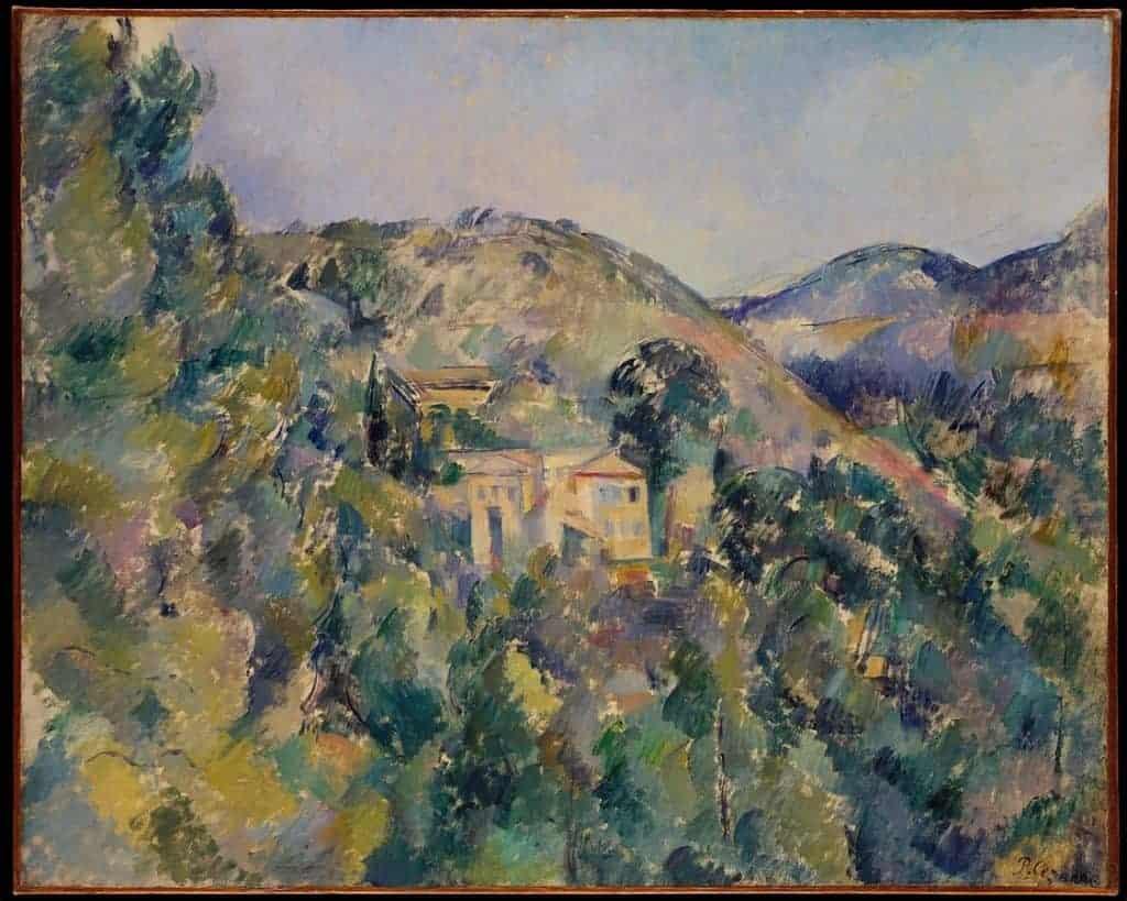 Paul Cézanne, Hill of the Poor (View of the Domaine Saint-Joseph), 1886-1887