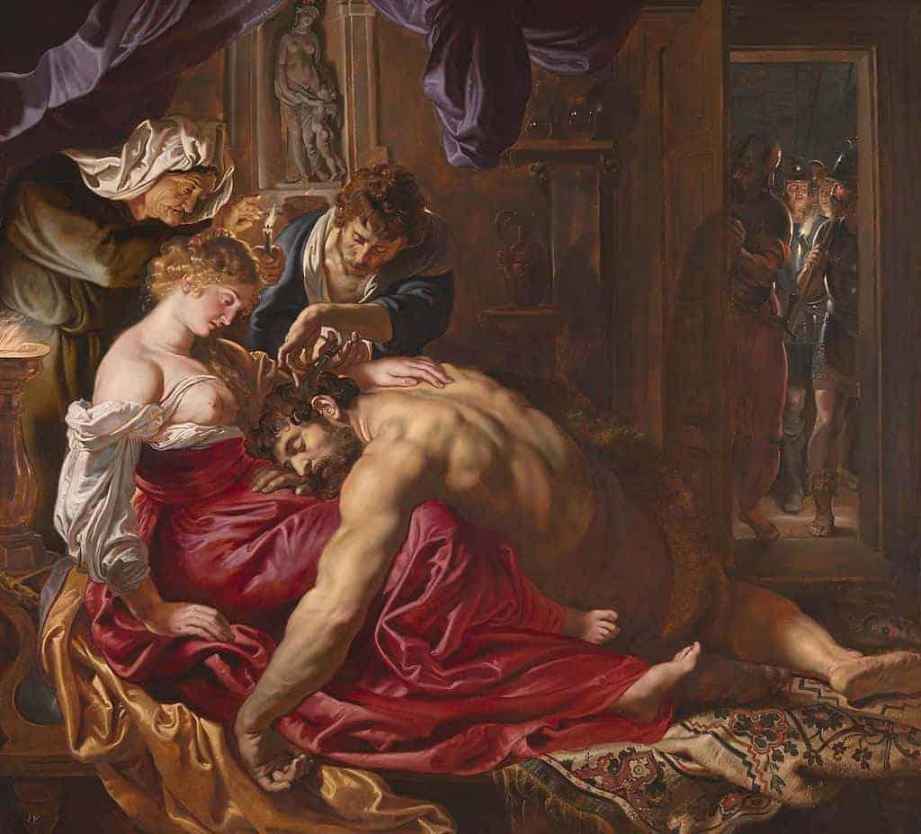 Rubens - Samson and Delilah - 1609-10