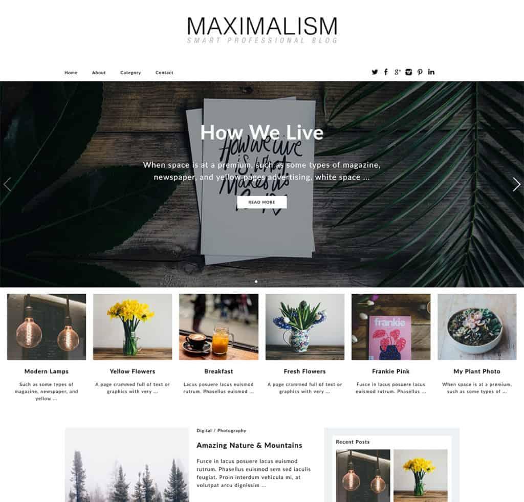 maximalism-wordpress-theme