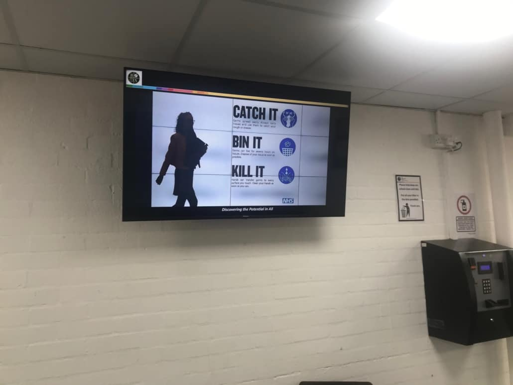 Signagelive digital signage allows you to adapt your messaging easily to keep up to date with current situations and events
