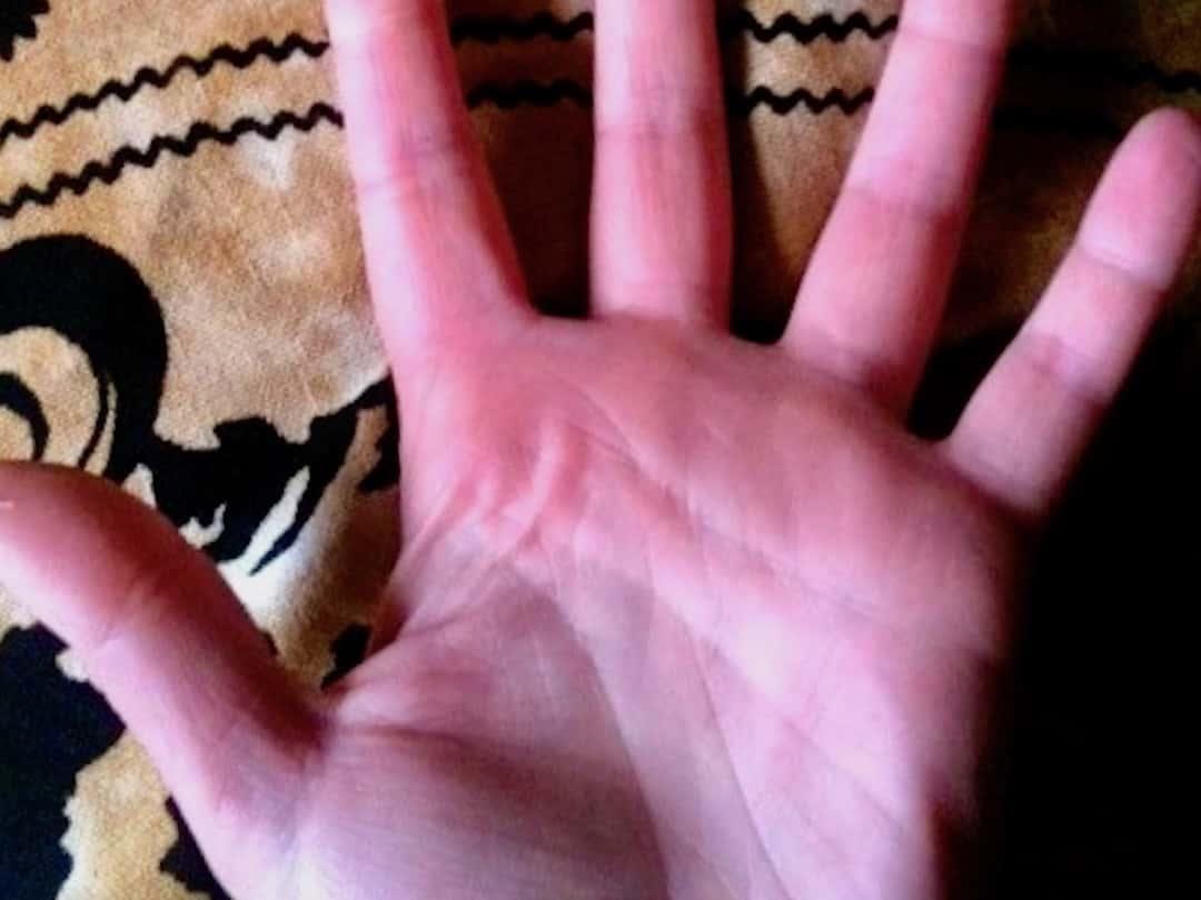 Meine Hand. Was sagt der Handleser?
