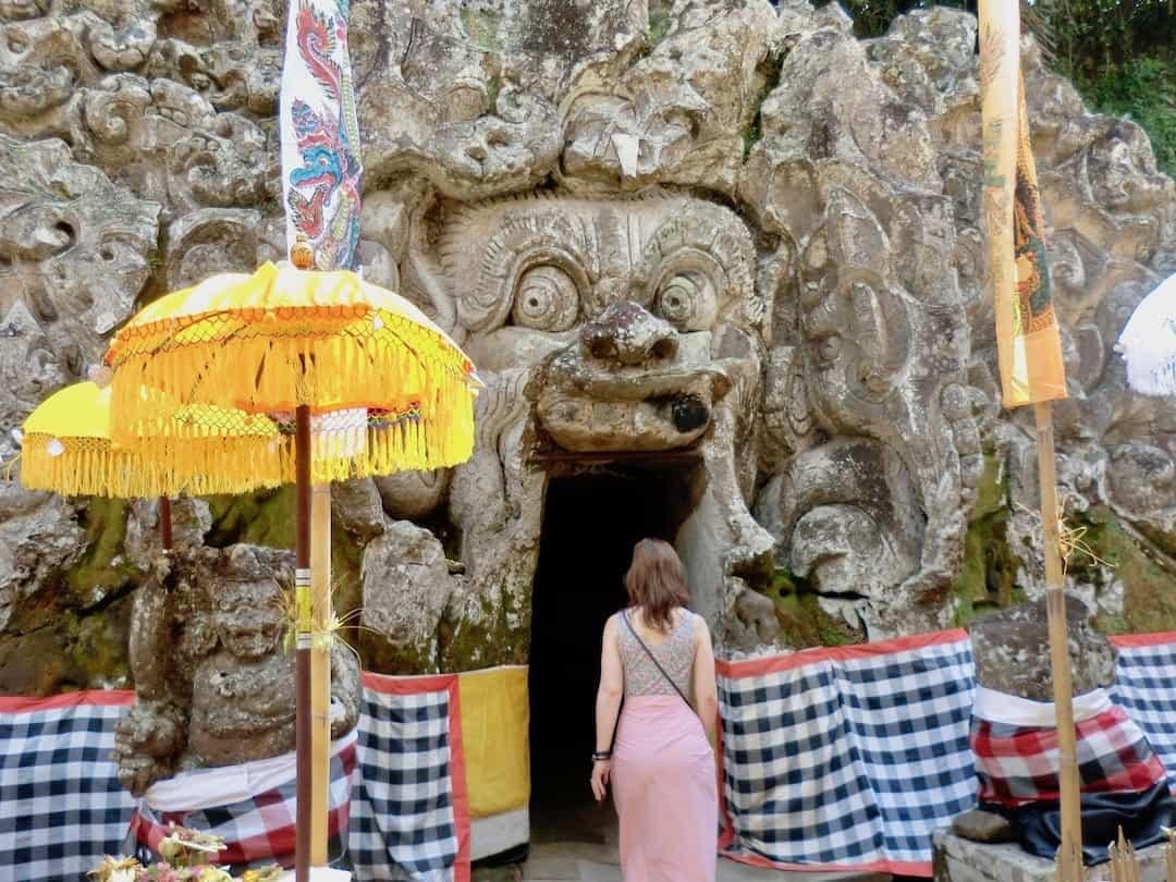 Elefantenhöhle Goa Gajah nahe Ubud Bali