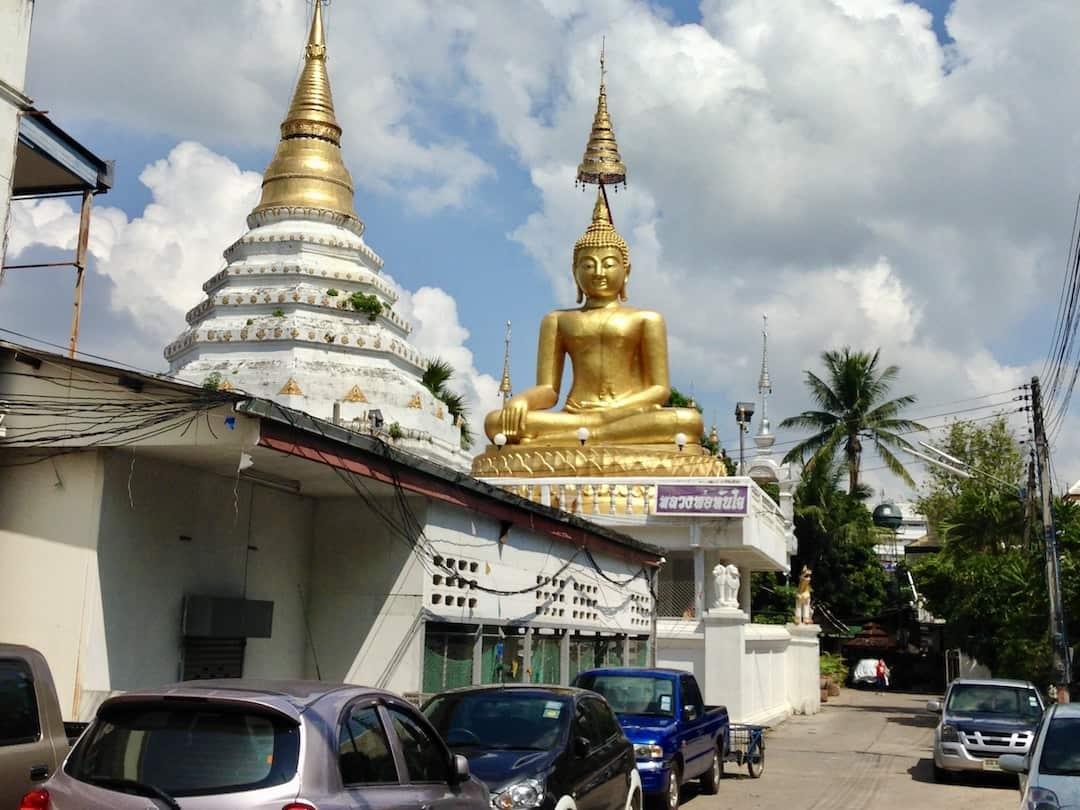 Buddha auf den Strassen von Chiang Mai