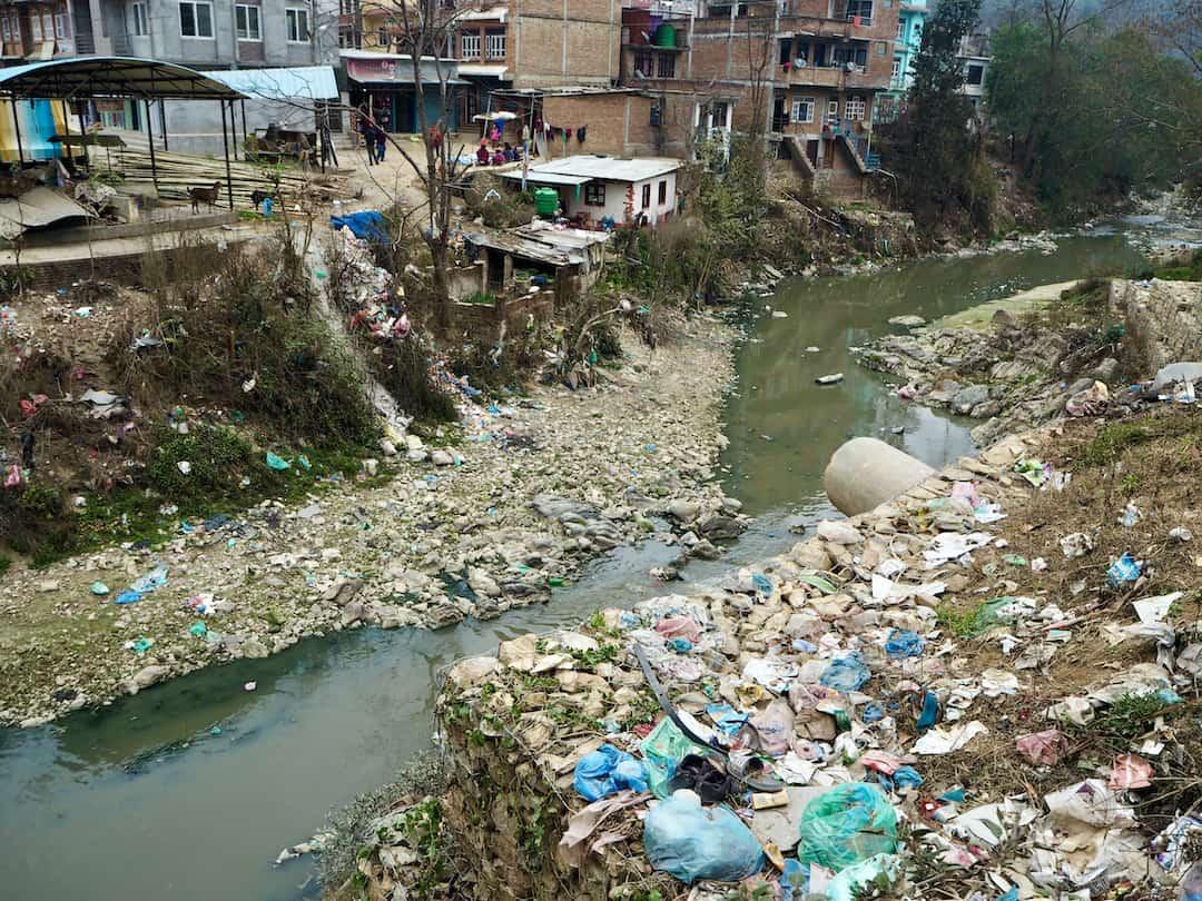 Panauti voller Müll