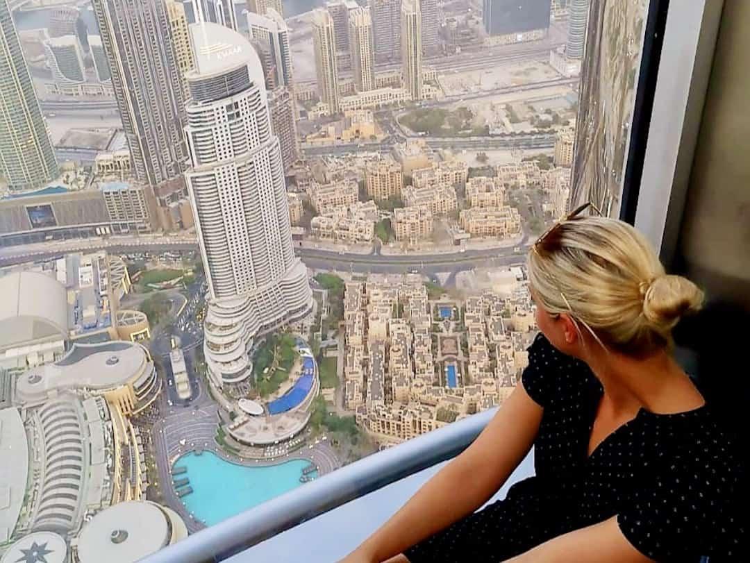 Dubai Burj Khalifa Aussicht