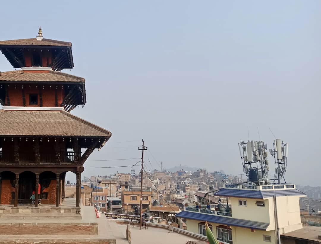 Uma-Maheshwar-Tempel in Kirtipur