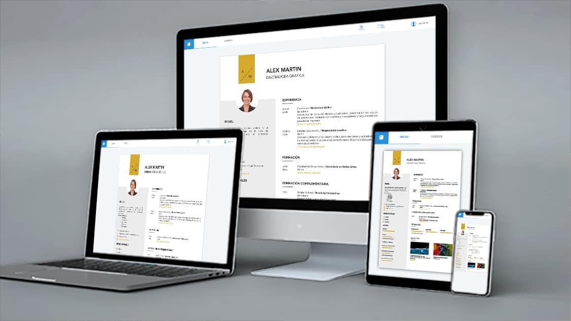 iculum Cv Online multidispositivo