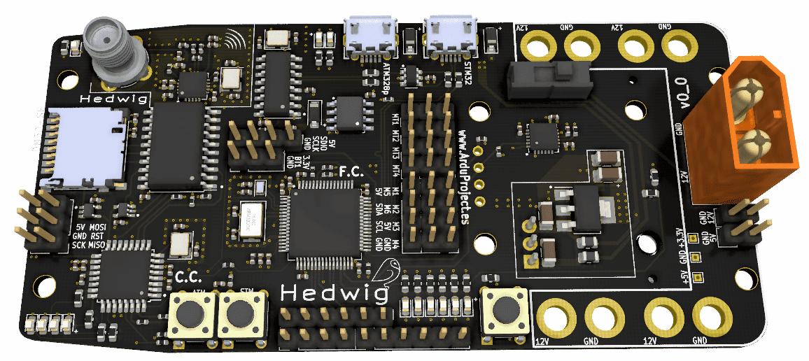 Curso diseño PCB   Controlador de vuelo con Arduino