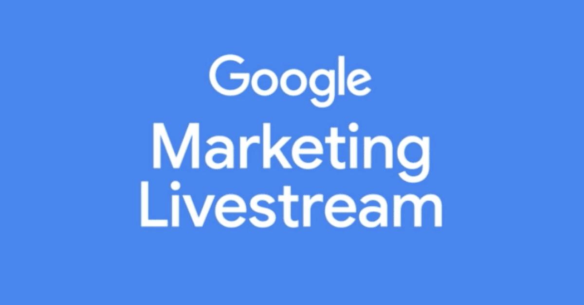 google marketing live 2021 livestream