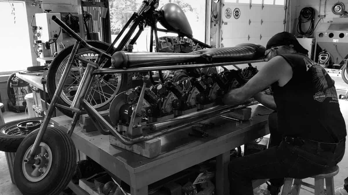 mclean-reo-6-bike-during-build