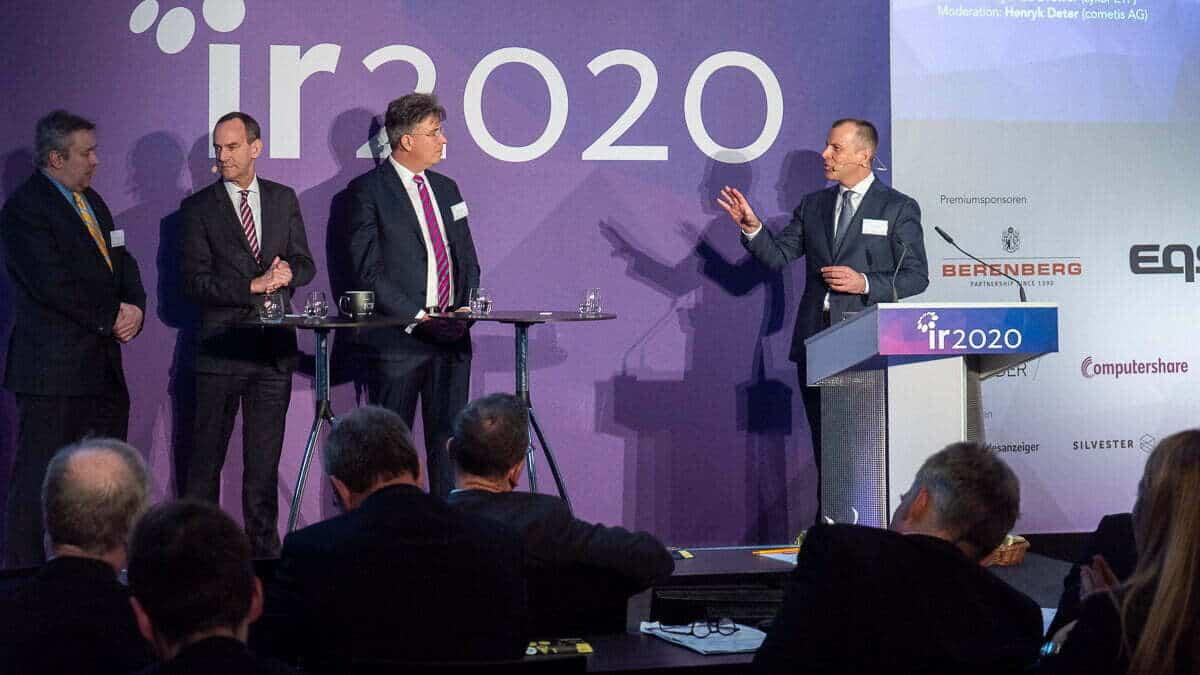 IR2020 Podiumsdskussion