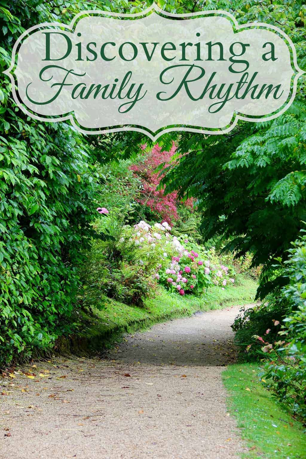 Discovering a Family Rhythm - Rhythm is very different from a schedule – rhythm supports our physical, emotional, and spiritual needs. Schedules dictate. Rhythms flow and breath, schedules are tight and strict. #rhythm #family #naturalparenting